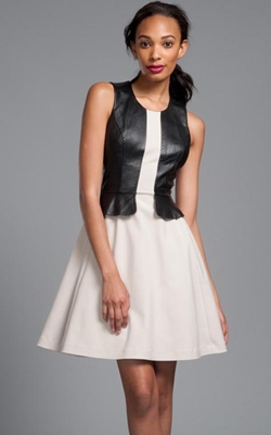 Tracey Reese Contrast Trim Frock
