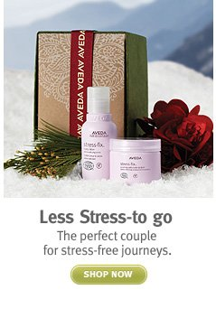stress less to go. shop now.