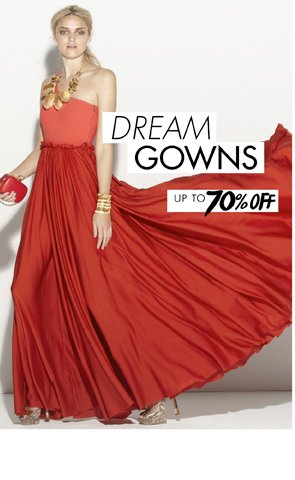 Dream Gowns up to 70% off