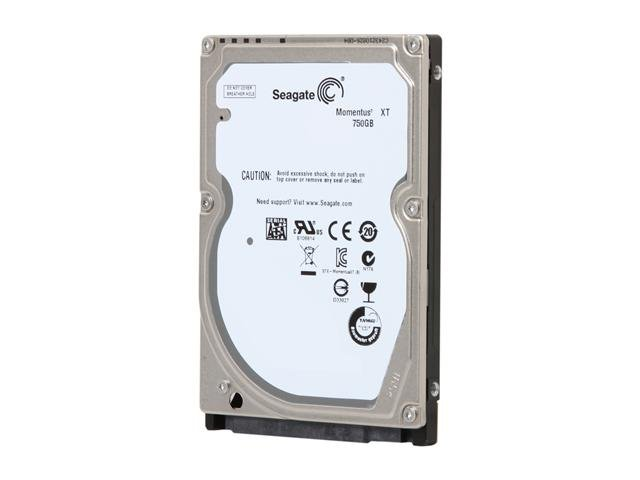 Seagate Momentus XT ST750LX003 750GB 7200 RPM 32MB Cache 2.5 Inch SATA 6.0Gb/s Solid State Hybrid Drive -Bare Drive
