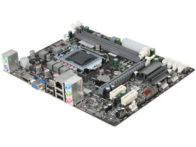 ECS H61H2-M2(1.0) LGA 1155 Intel H61 HDMI Micro ATX Intel Motherboard