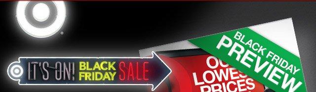 It's on! Black Friday Sale.