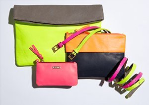 Crazy for Color: Clutches & Belts from gorjana