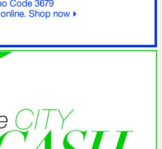 Last Day to Redeem your City Cash! Find a Store