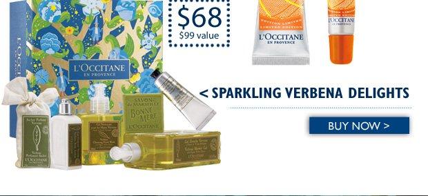Sparkling Verbena Delights $68 ($99 Value) Buy Now