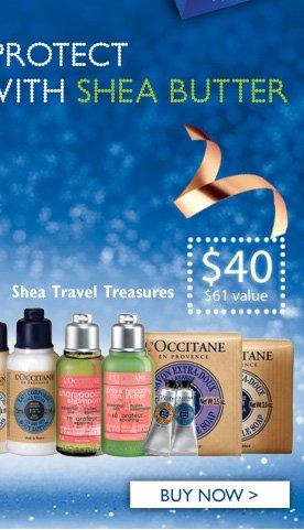 Shea Travel Treasures $40 ($61 Value) Buy Now