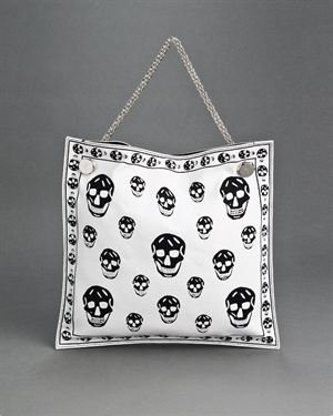 Alexander McQueen LU Signature Skull Print Tote Bag, 9/10 Condition $459