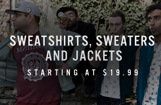 Sweaters, Sweatshirts and Jackets