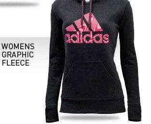 womens graphic fleece