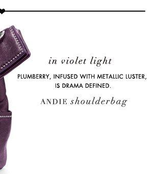 In Violet Light: Andie Shoulderbag