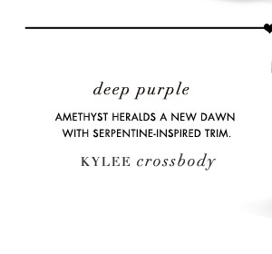 Deep Purple: Kylee Crossbody