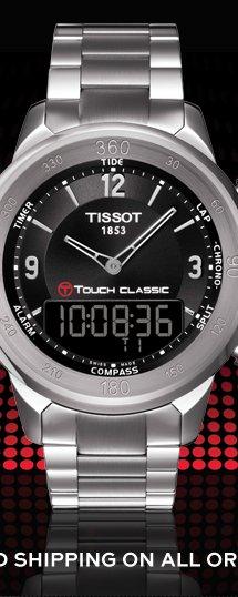 T-Touch Classic Men's Black Quartz Touch Watch