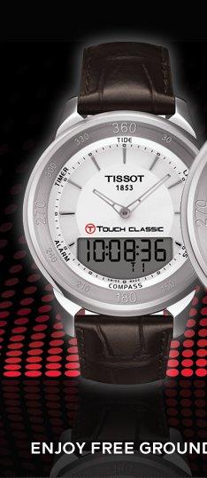 T-Touch Classic Men's Silver Quartz Touch Watch