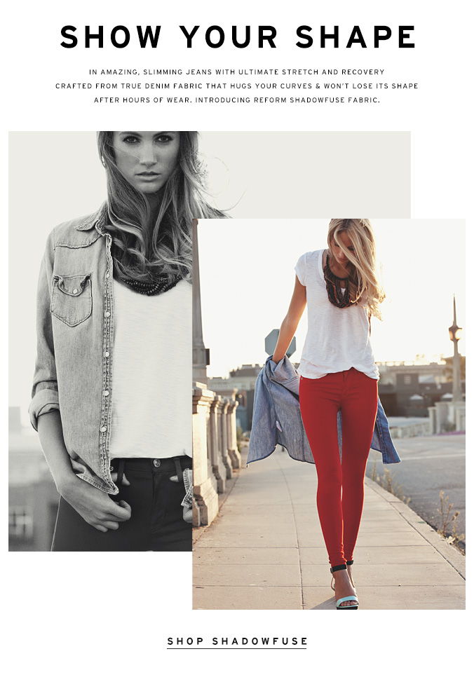 Introducing Jeans With Ultimate Stretch & Recovery