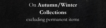On Autumn/Winter - Collections excluding permanent items