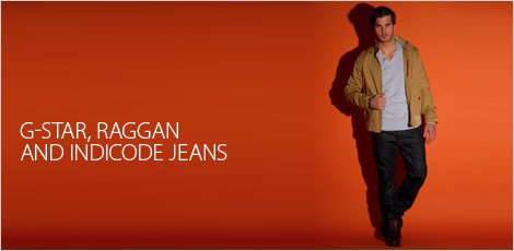 G-Star Raggan And Indicode Jeans