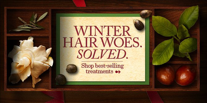 WINTER HAIR WOES SOLVED SHOP BEST SELLING TREATMENTS