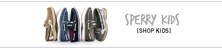 Shop Sperry for the Little Ones!