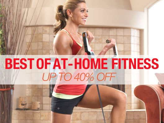 Best Of At-Home Fitness Up to 40% off 3-Days Only!