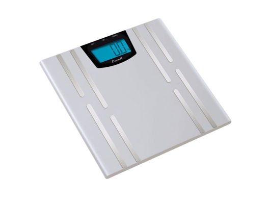 I like this scale by Escali because it not only measures weight, it also measures your hydration level, body fat and muscle mass.