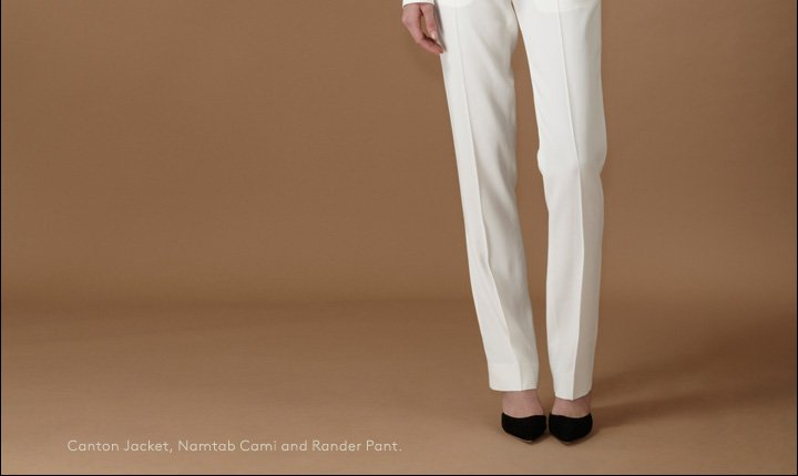 Pure and simple: Shop The Row resort lookbook.