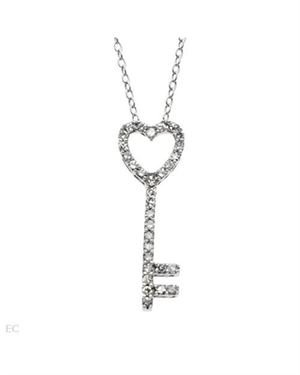 Ladies Necklace Designed In 925 Sterling Silver $79