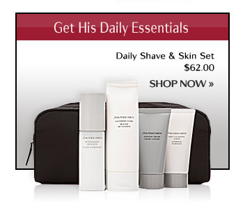 SHISEIDO MEN Set