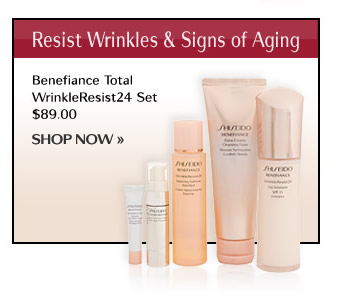 BENEFIANCE Total WrinkleResist24 Set