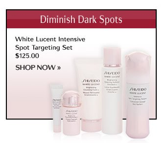WHITE LUCENT Intensive Spot Targeting Set