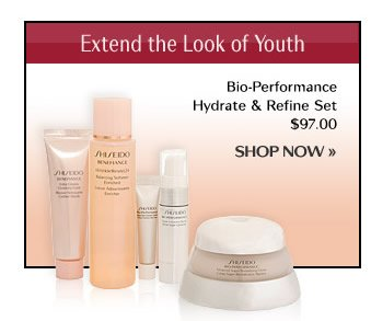 BIO-PERFORMANCE Hydrate & Refine Set