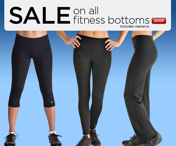 SHOP fitness bottoms SALE