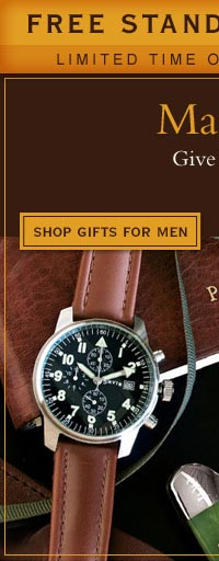 Make it personal... Give a gift that says, Just for You. Order early for holiday delivery.       Shop Gifts For Men