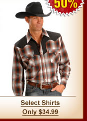 Select Shirts - Only $34.99