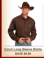 Cinch Long Sleeve Shirts