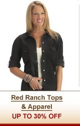 Red Ranch Tops