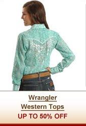Wrangler Western Tops