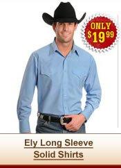 Ely Long Sleeve Shirts