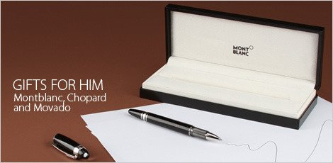 The gift of writing from Montblanc, Chopard and Movado