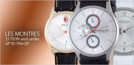 Les montres for $179.99 and under