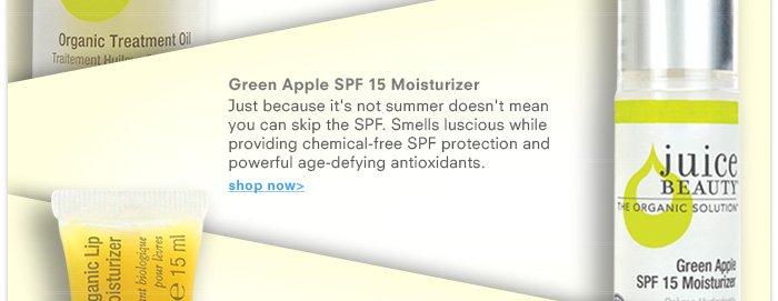Green Apple SPF 15 Moisturizer