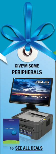 GIVE'M SOME PERIPHERALS. See All Deals