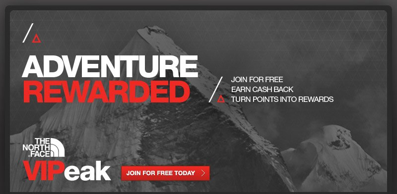 Is there a The North Face loyalty program? The VIPeak Rewards program allows you to earn rewards for purchasing The North Face items and partaking in company events. You can earn 10 Peak Points for every $1 spent at The North Face stores in-person or online, and five Peak Points for every $1 spent at The North Face outlets.5/5(13).