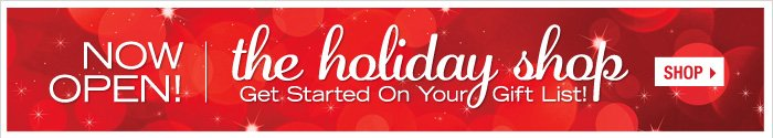 Holiday Gift Shop is Open!
