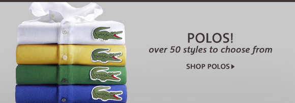 POLOS! over 50 styles to choose from shop polos