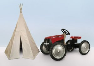Boys Clubhouse: Tractors, Teepees & Trains