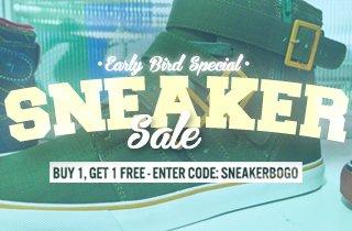 Early Bird Special: Sneaker Sale