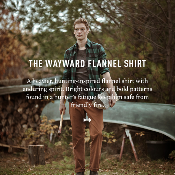 WAYWARD FLANNEL SHIRT