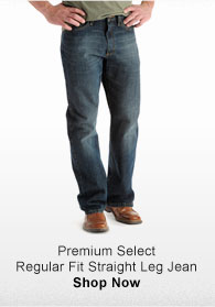 PREMIUM SELECT REGULAR FIT STRAIGHT LEG JEAN SHOP NOW