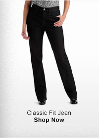 CLASSIC FIT JEAN SHOP NOW