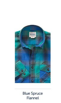 Blue Spruce Flannel